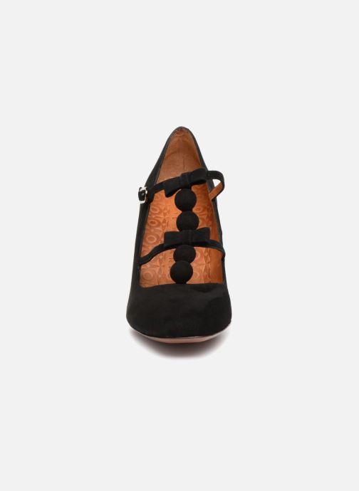 Escarpins Chie Mihara Sanjan Noir vue portées chaussures