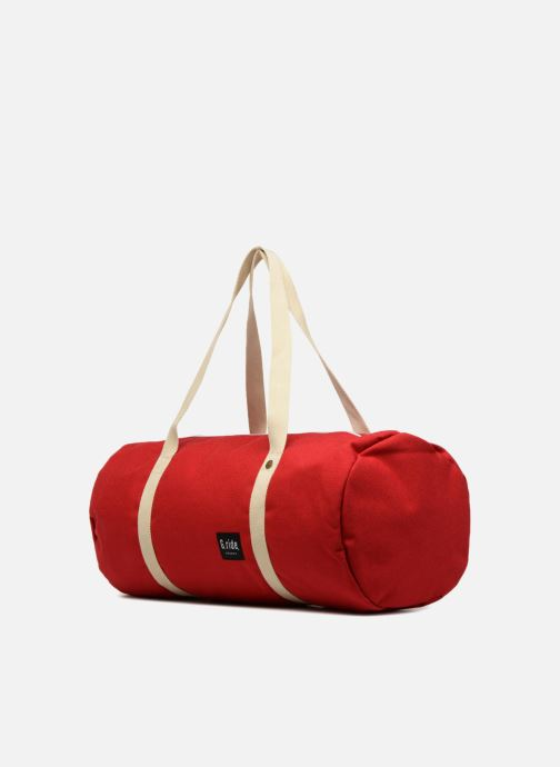 Borsa da palestra G.Ride CLEMENT Rosso modello indossato