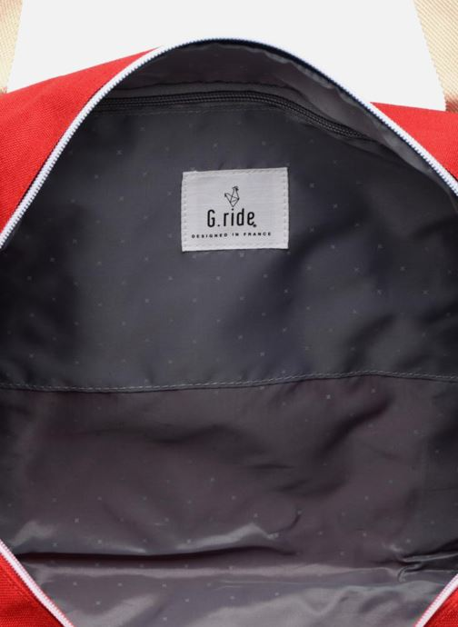 Sporttassen G.Ride CLEMENT Rood achterkant
