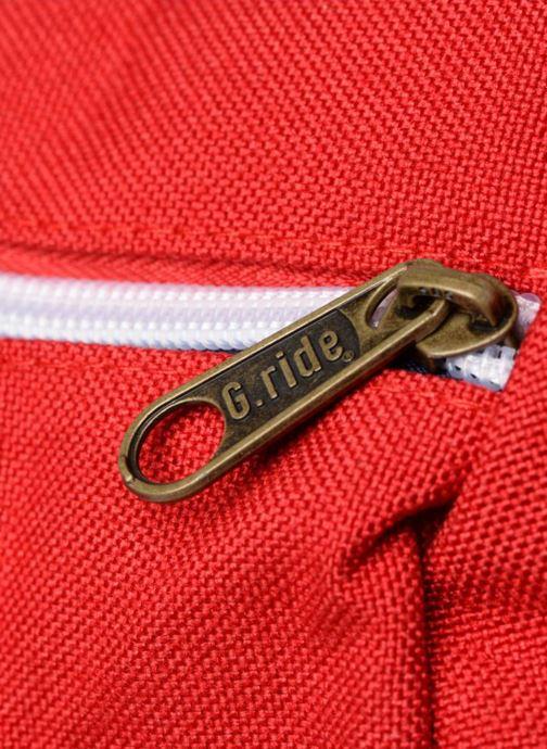 Borsa da palestra G.Ride CLEMENT Rosso immagine sinistra