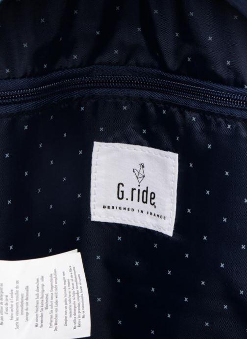 Sacs à dos G.Ride AUGUSTE Bleu vue derrière
