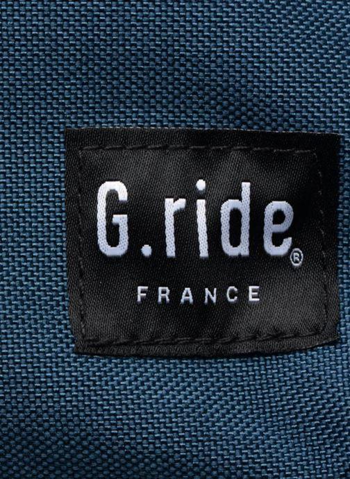 Sacs à dos G.Ride AUGUSTE Bleu vue gauche