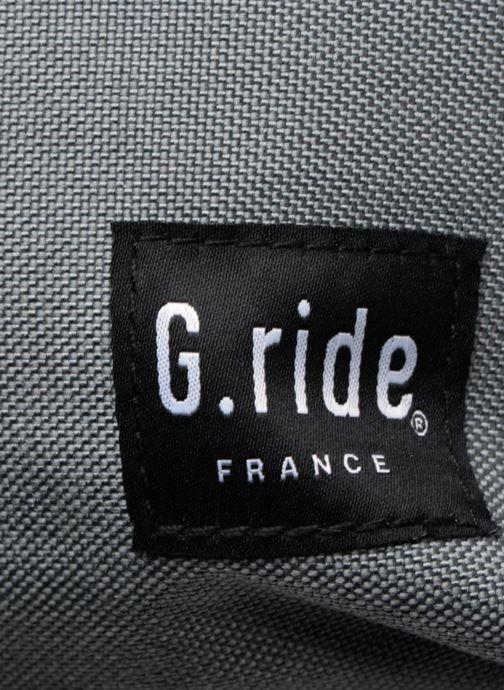 Rucksäcke G.Ride AUGUSTE grau ansicht von links