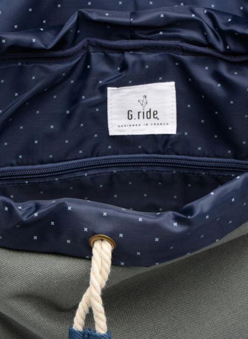 Rucksäcke G.Ride CHLOE grau ansicht von hinten