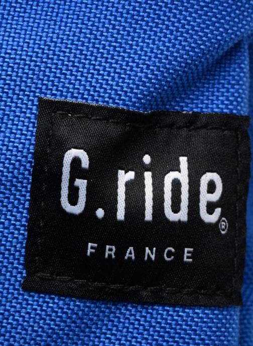 Rucksäcke G.Ride CHLOE grau ansicht von links