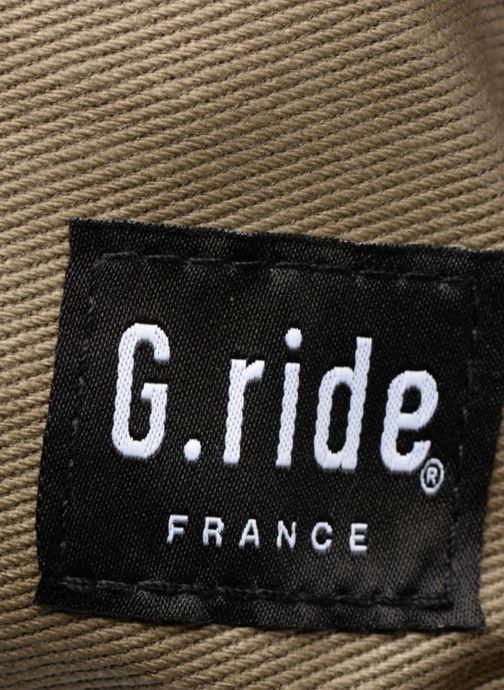 Sacs à dos G.Ride BLANCHE Bleu vue gauche