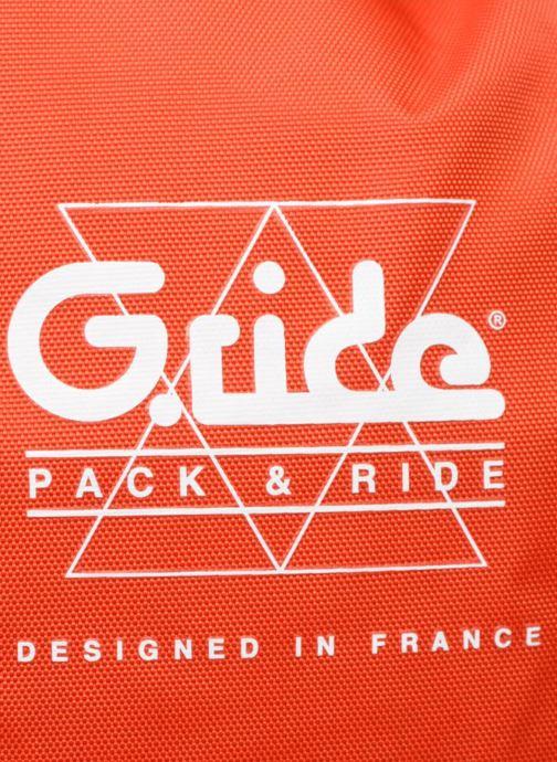 Sacs à dos G.Ride AMBROISE Orange vue gauche
