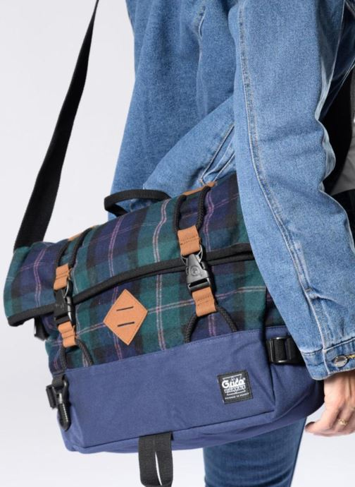 Laptop cases G.Ride ANTOINE Blue view from underneath / model view
