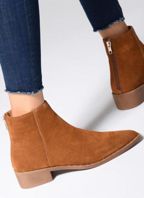 Stiefeletten & Boots Jonak GUEST braun ansicht von unten / tasche getragen