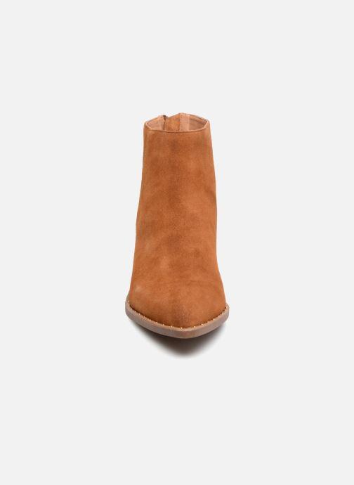Bottines et boots Jonak GUEST Marron vue portées chaussures