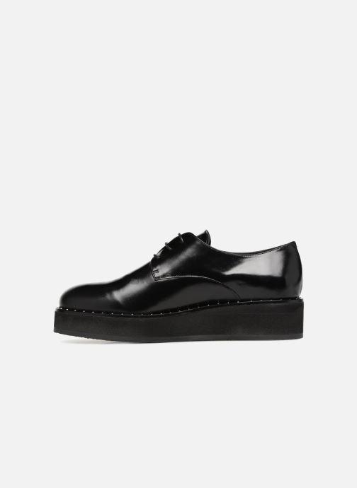 Lace-up shoes Jonak ALANA Black front view