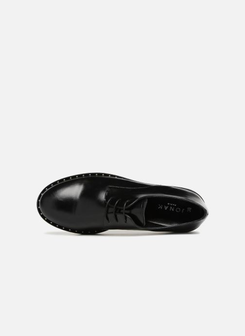 Lace-up shoes Jonak ALANA Black view from the left