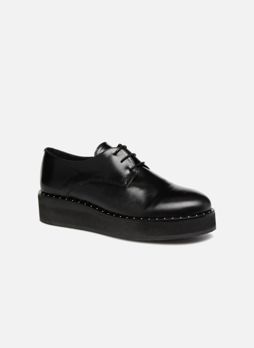Lace-up shoes Jonak ALANA Black detailed view/ Pair view