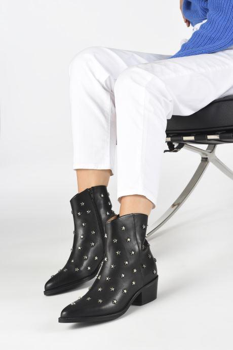 Bottines et boots Jonak OCHO Noir vue bas / vue portée sac