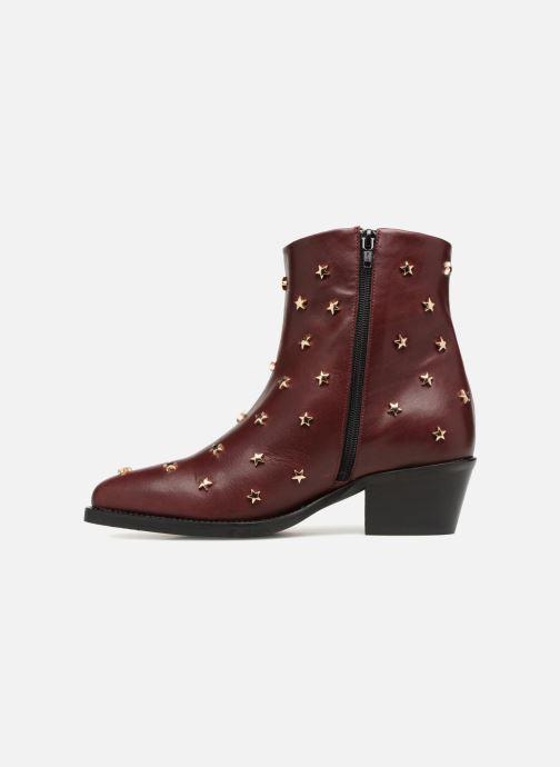 Bottines et boots Jonak OCHO Bordeaux vue face