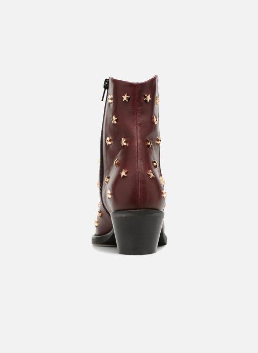 Bottines et boots Jonak OCHO Bordeaux vue droite
