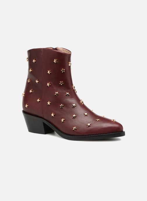 Bottines et boots Jonak OCHO Bordeaux vue détail/paire