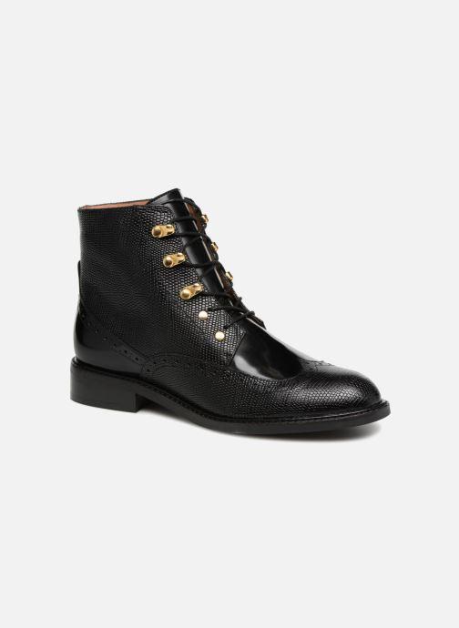 Ankelstøvler Jonak DEMOTI Sort detaljeret billede af skoene