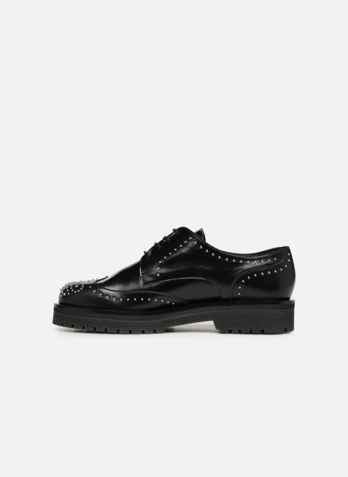 Zapatos con cordones Jonak ABIBO Negro vista de frente