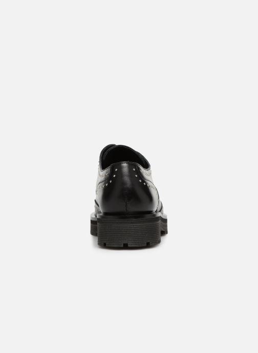 Zapatos con cordones Jonak ABIBO Negro vista lateral derecha