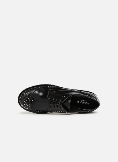 Zapatos con cordones Jonak ABIBO Negro vista lateral izquierda