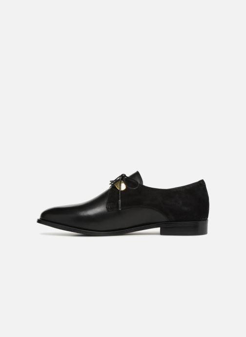 Zapatos con cordones Jonak DIVYO Negro vista de frente