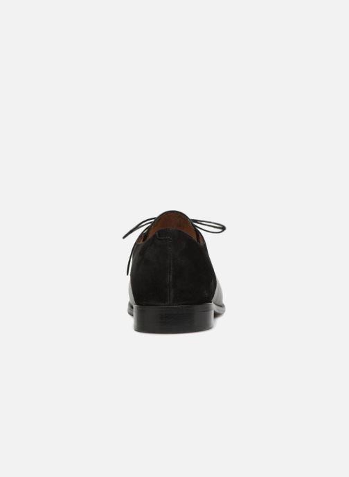 Zapatos con cordones Jonak DIVYO Negro vista lateral derecha