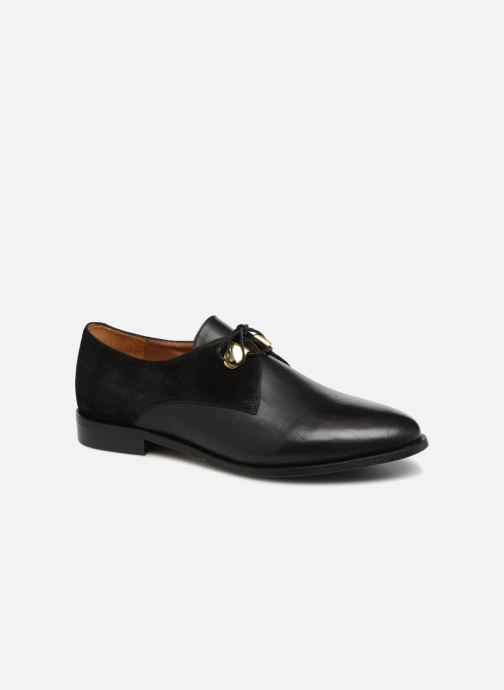 Zapatos con cordones Jonak DIVYO Negro vista de detalle / par