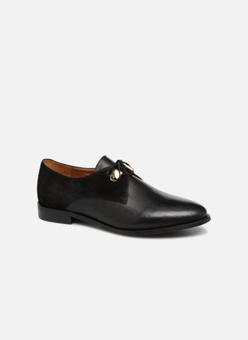 Chaussures à lacets Jonak DIVYO Noir vue détail/paire