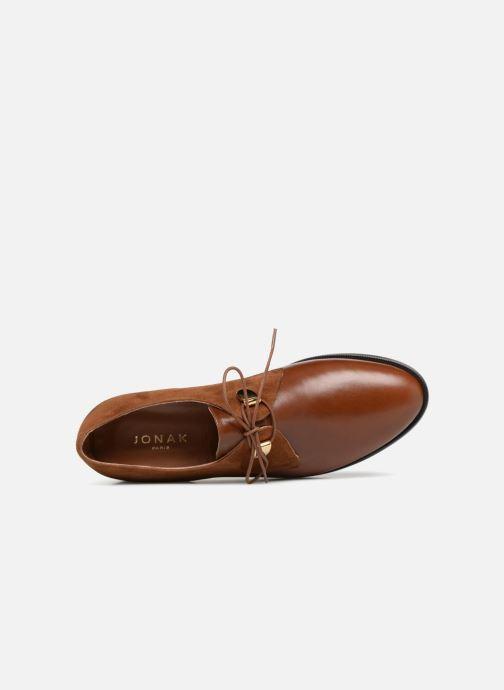 Chaussures à lacets Jonak DIVYO Marron vue gauche