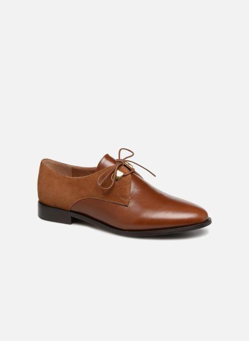 Chaussures à lacets Jonak DIVYO Marron vue détail/paire
