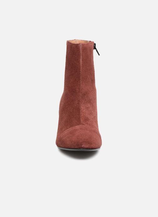 Bottines et boots Jonak DEMSTER Bordeaux vue portées chaussures