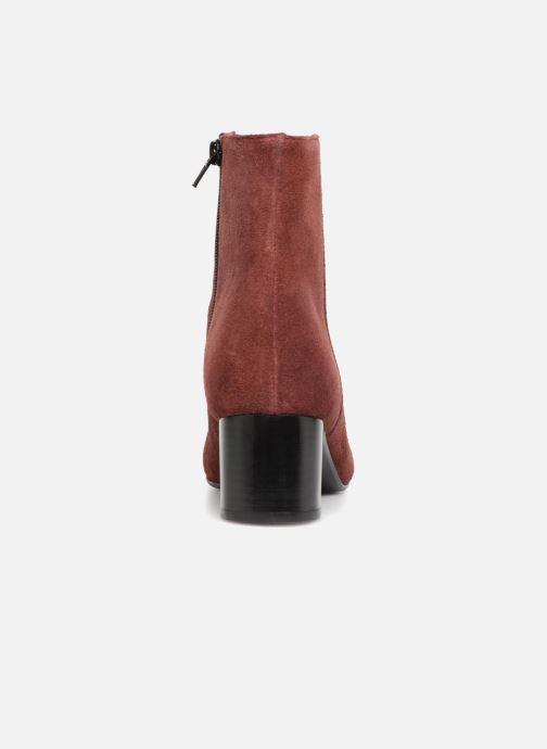 Bottines et boots Jonak DEMSTER Bordeaux vue droite