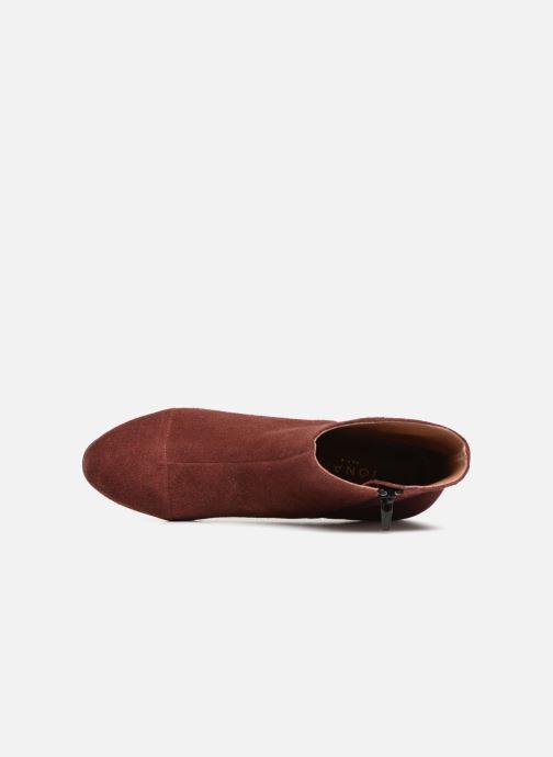 Bottines et boots Jonak DEMSTER Bordeaux vue gauche