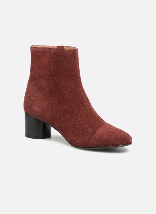 Bottines et boots Jonak DEMSTER Bordeaux vue détail/paire