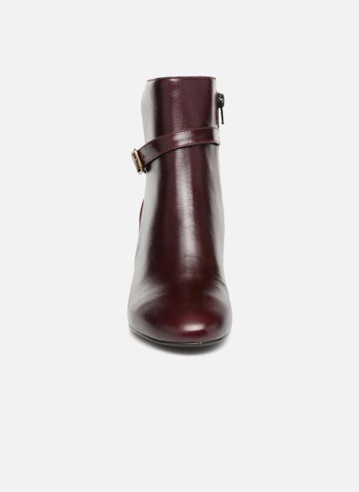 Bottines et boots Jonak DORBETA Bordeaux vue portées chaussures