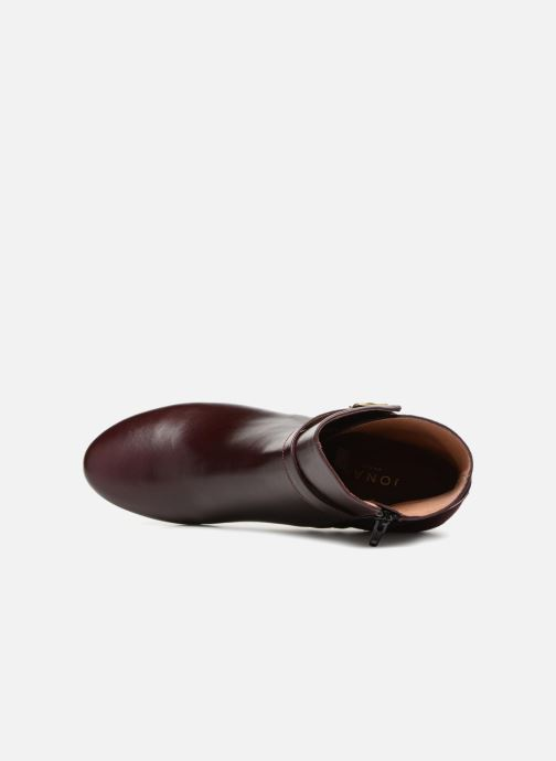 Bottines et boots Jonak DORBETA Bordeaux vue gauche