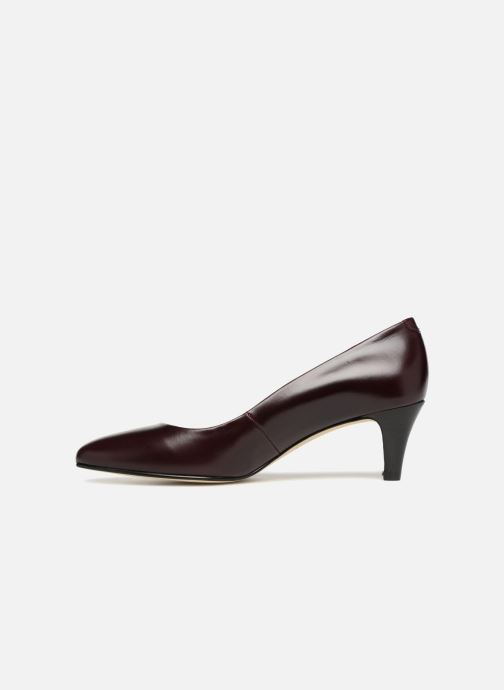 Zapatos de tacón Jonak DABI Vino vista de frente