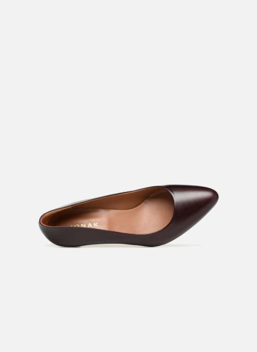 Zapatos de tacón Jonak DABI Vino vista lateral izquierda