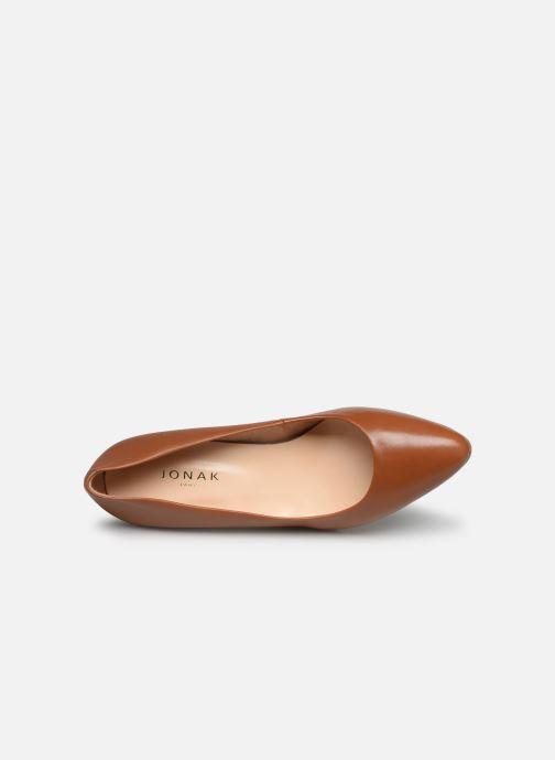 Zapatos de tacón Jonak DABI Marrón vista lateral izquierda