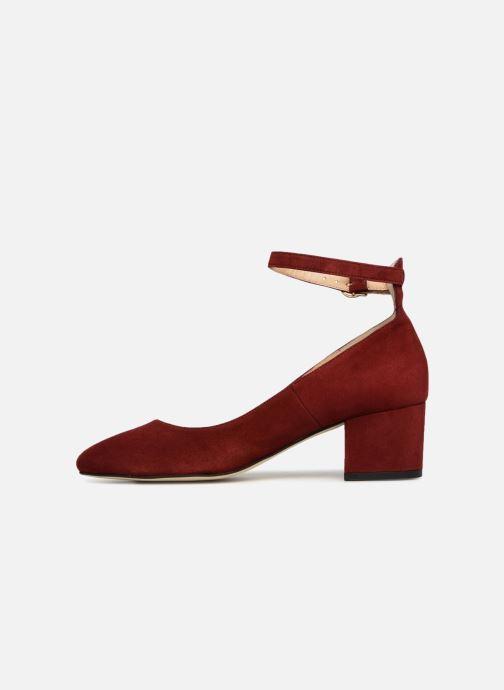 High heels Jonak VESPA Red front view