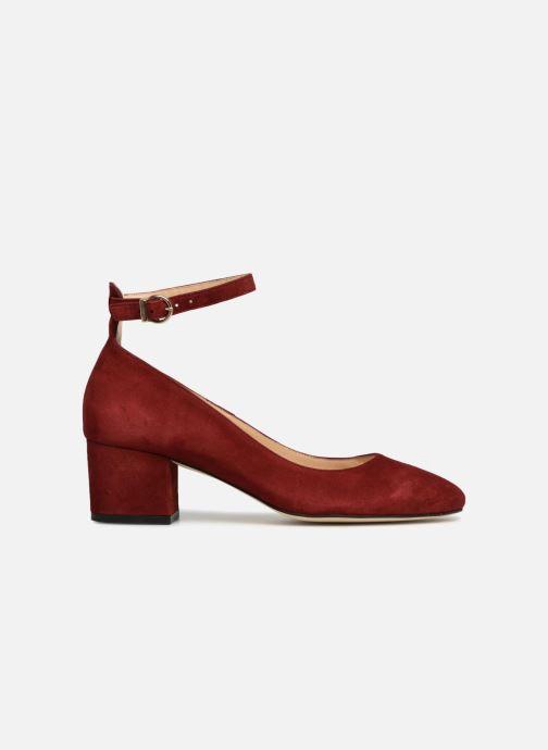 High heels Jonak VESPA Red back view
