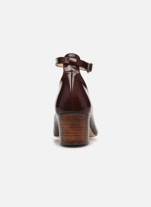 Zapatos de tacón Jonak VESPA Marrón vista lateral derecha