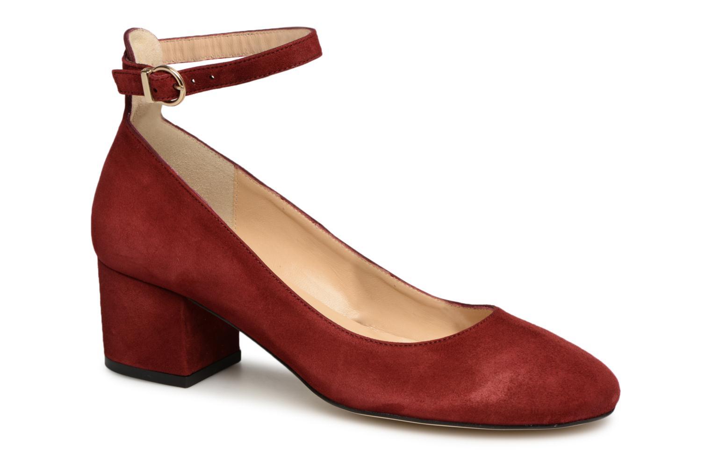 High heels Jonak VESPA Red detailed view/ Pair view