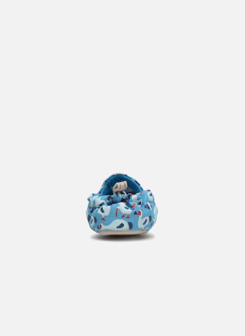 Chaussons Poco Nido Dodo Bleu vue droite