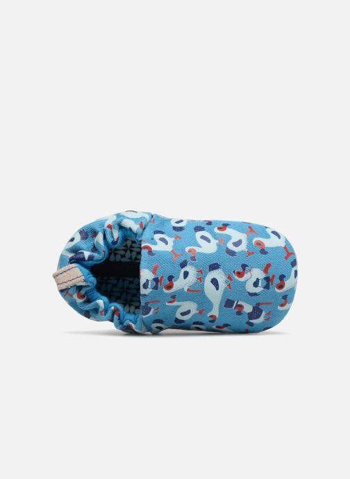 Chaussons Poco Nido Dodo Bleu vue gauche