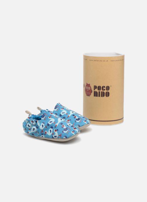 Chaussons Poco Nido Dodo Bleu vue détail/paire