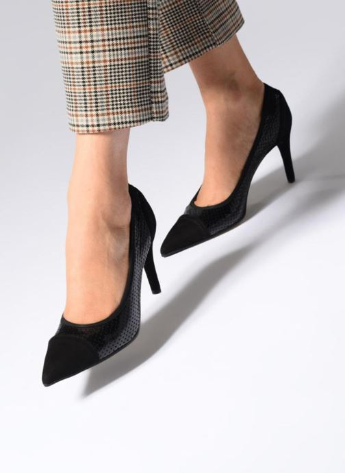 Zapatos de tacón Elizabeth Stuart BECOR 452 Negro vista de abajo