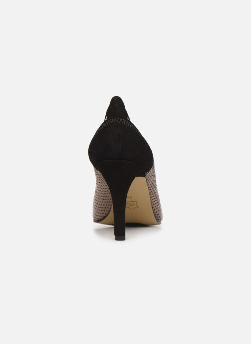 High heels Elizabeth Stuart Becor 452 Beige view from the right