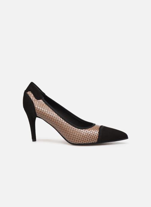High heels Elizabeth Stuart Becor 452 Beige back view